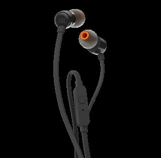 Słuchawki douszne JBL T110 czarne