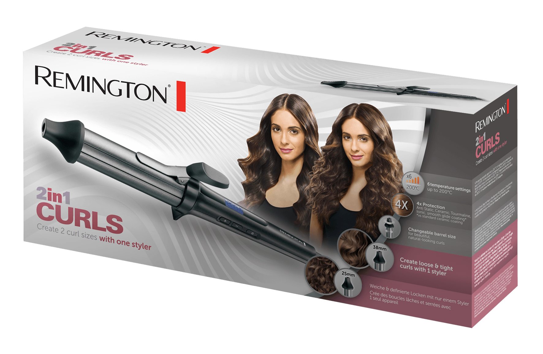 Lokówka Remington CI67E1 2in1 Curls