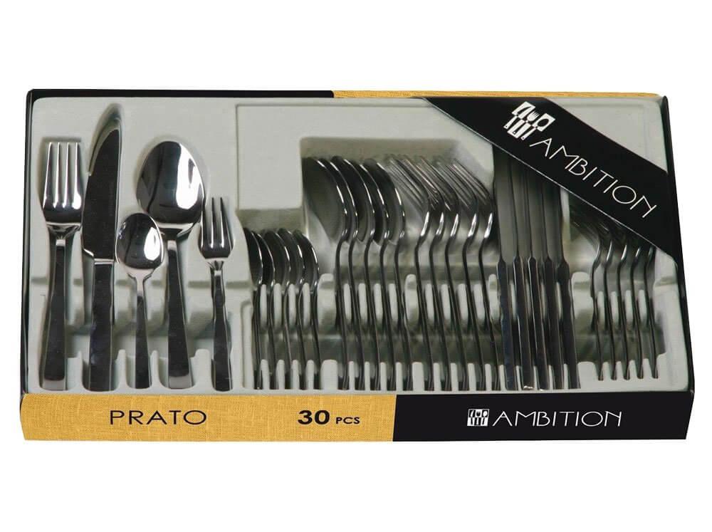Komplet sztućców Prato 30-elementowy Ambition