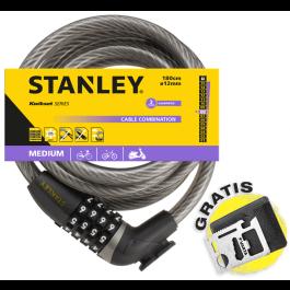 Linka rowerowa zamykana na szyfr 180 cm ø12 mm (S755-204) Stanley