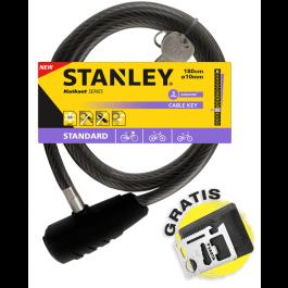 Linka rowerowa zamykana na klucz Ø10x1800 (S741-157) Stanley
