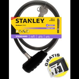 Linka rowerowa zamykana na klucz 90 cm ø10 mm (S741-155) Stanley