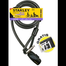 Rodzinna linka rowerowa zamykana na klucz 240 cm ø12 mm (S741-163) Stanley