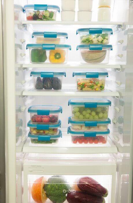 Pojemniki na żywność Curver Smart Fresh 3x0,2l