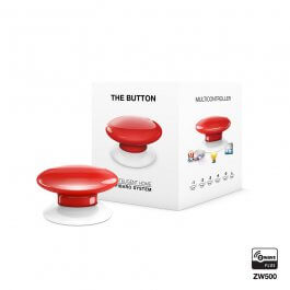 The Button (bezprzewodowy kontroler scen) Fibaro FGPB-101-3 ZW5 (czerwony)