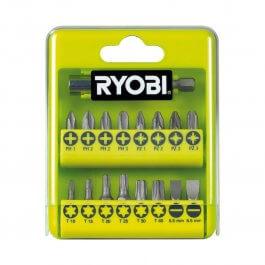 17-elementowy zestaw bitów Ryobi RAK17SD