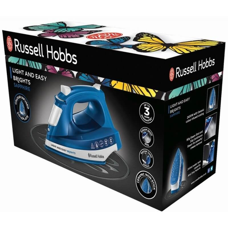 Żelazko Russell Hobbs Light & Easy Brights Saphire 24830-56