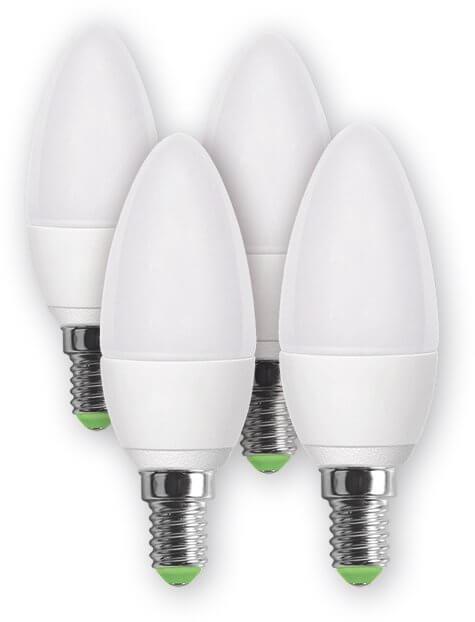Żarówka LED Retlux REL 16 LED C37 4x4W E14
