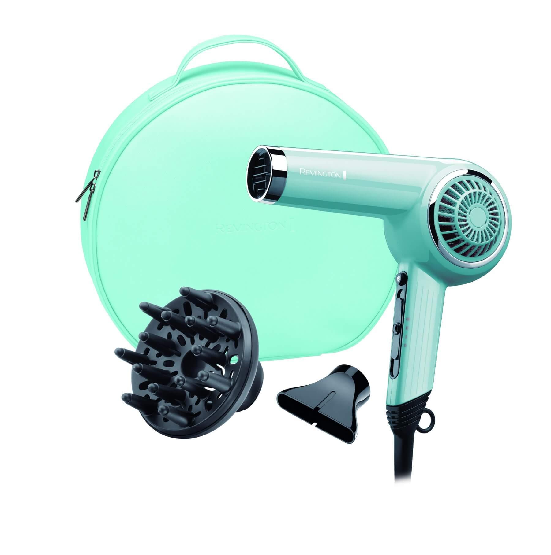 Suszarka do włosów Remington Blue Retro Dryer D4110OB