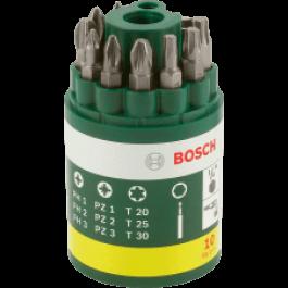 10- elementowy zestaw  do wkręcania Bosch