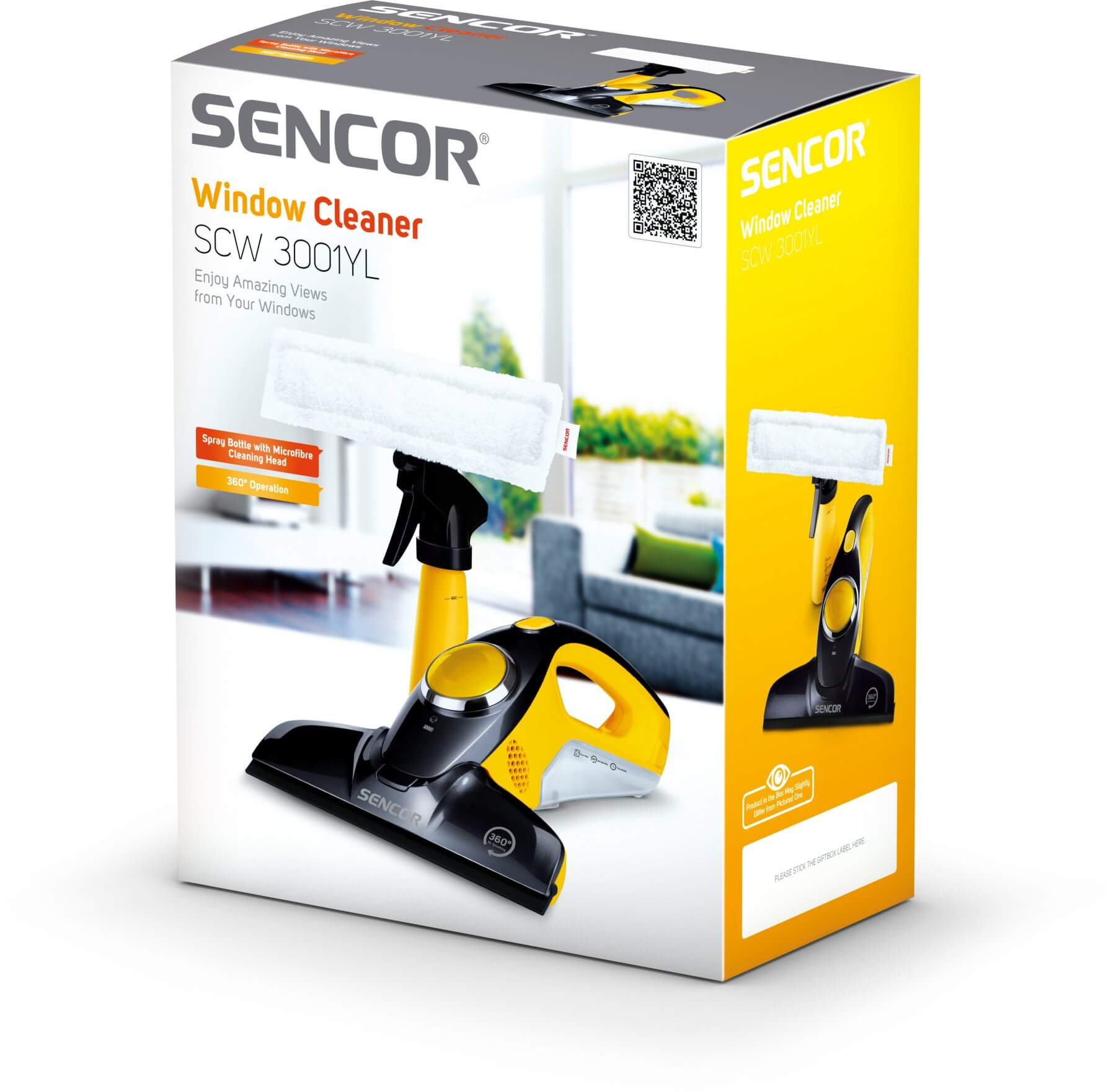Myjka do okien Sencor SCW 3001YL